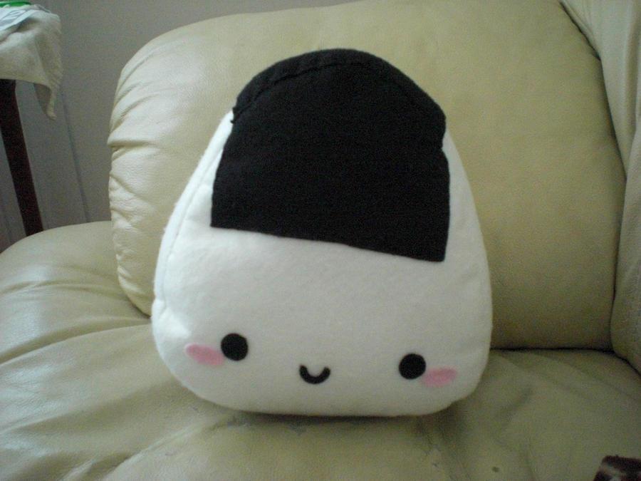 Onigiri plushie by chococat830