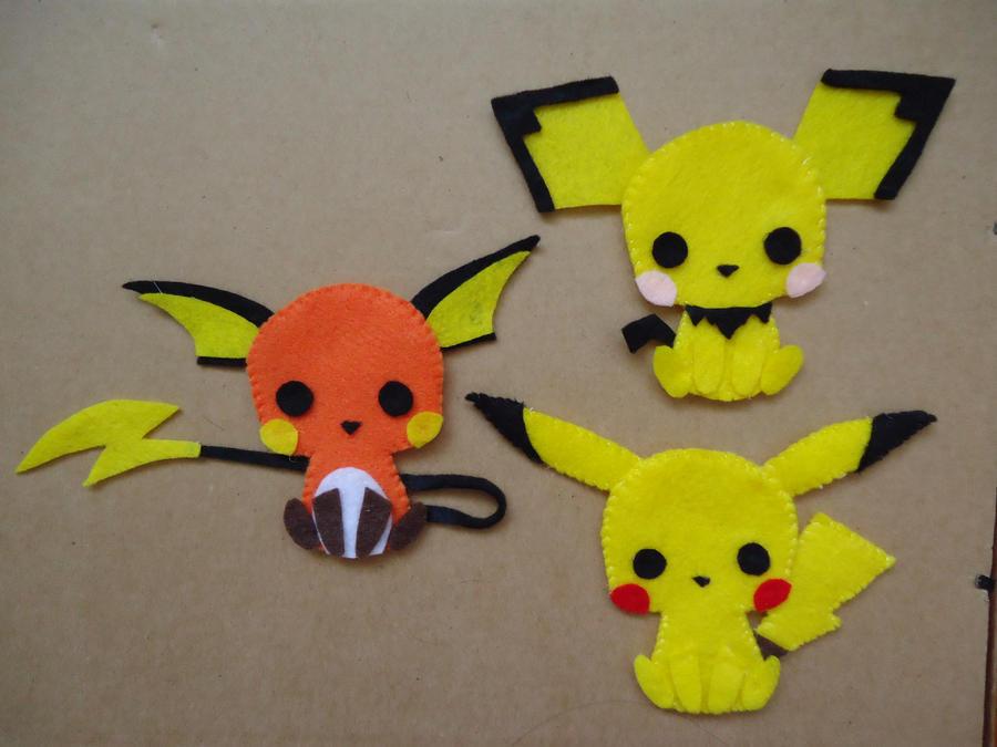 Pichu Pikachu Raichu By Chococat830