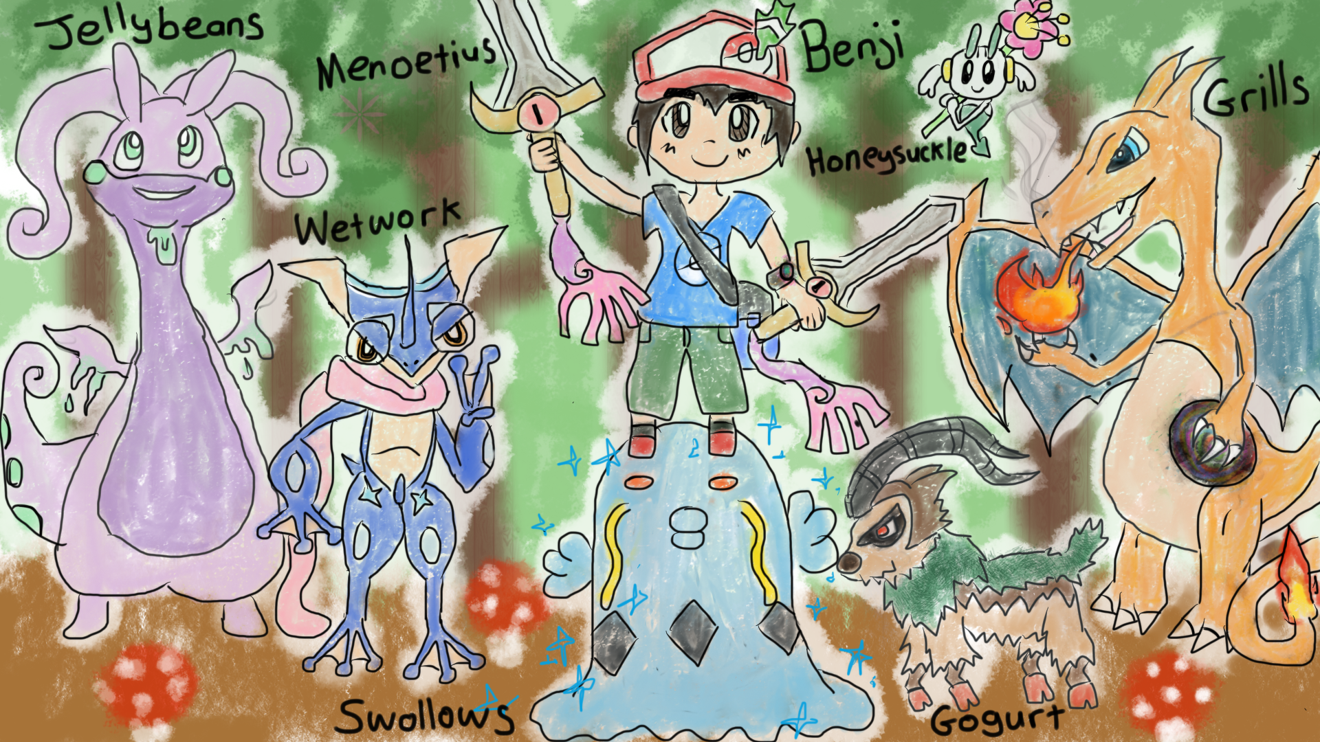 kalos region pokemon coloring pages - photo#15