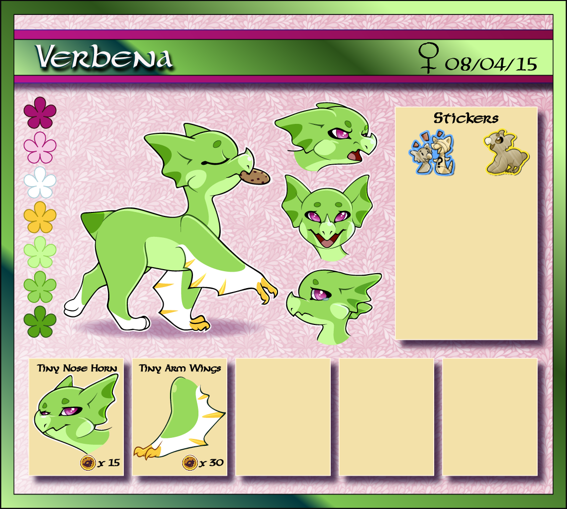 Verbena Reference (Baby, Outdated) by Ascynd