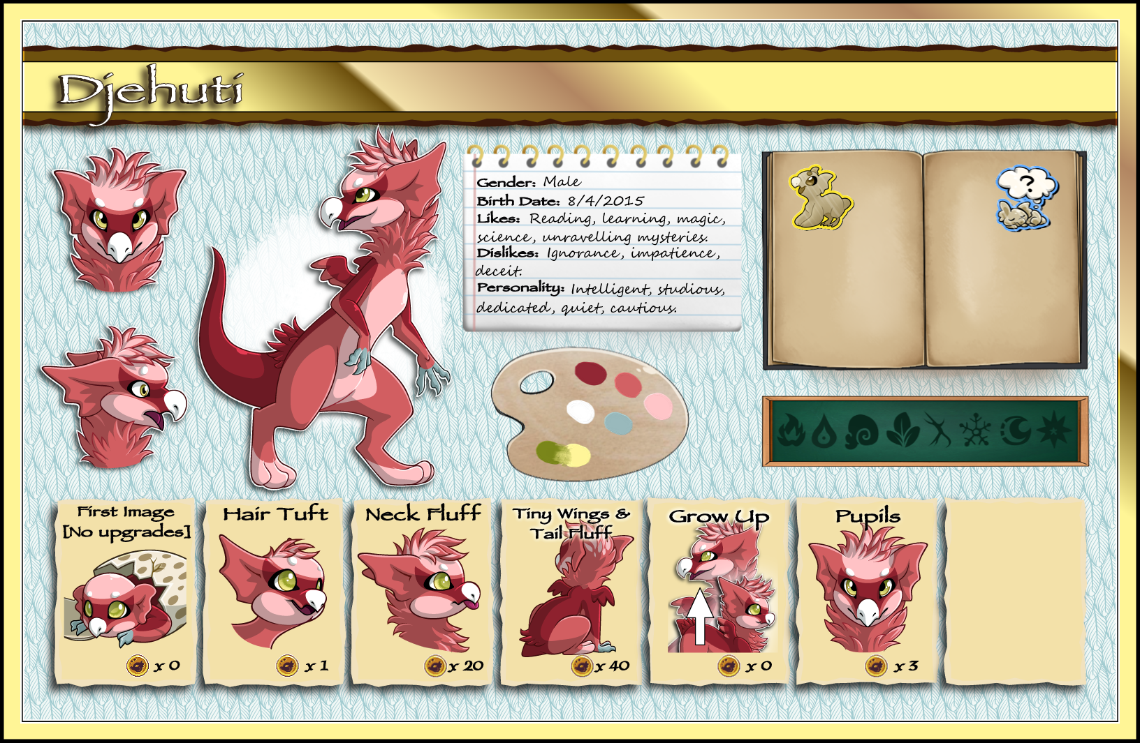 Djehuti Ref (Young Adult, Outdated - See Below) by Ascynd