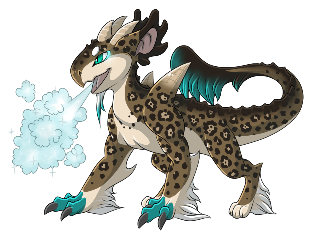 Frost Breath Example by Ascynd