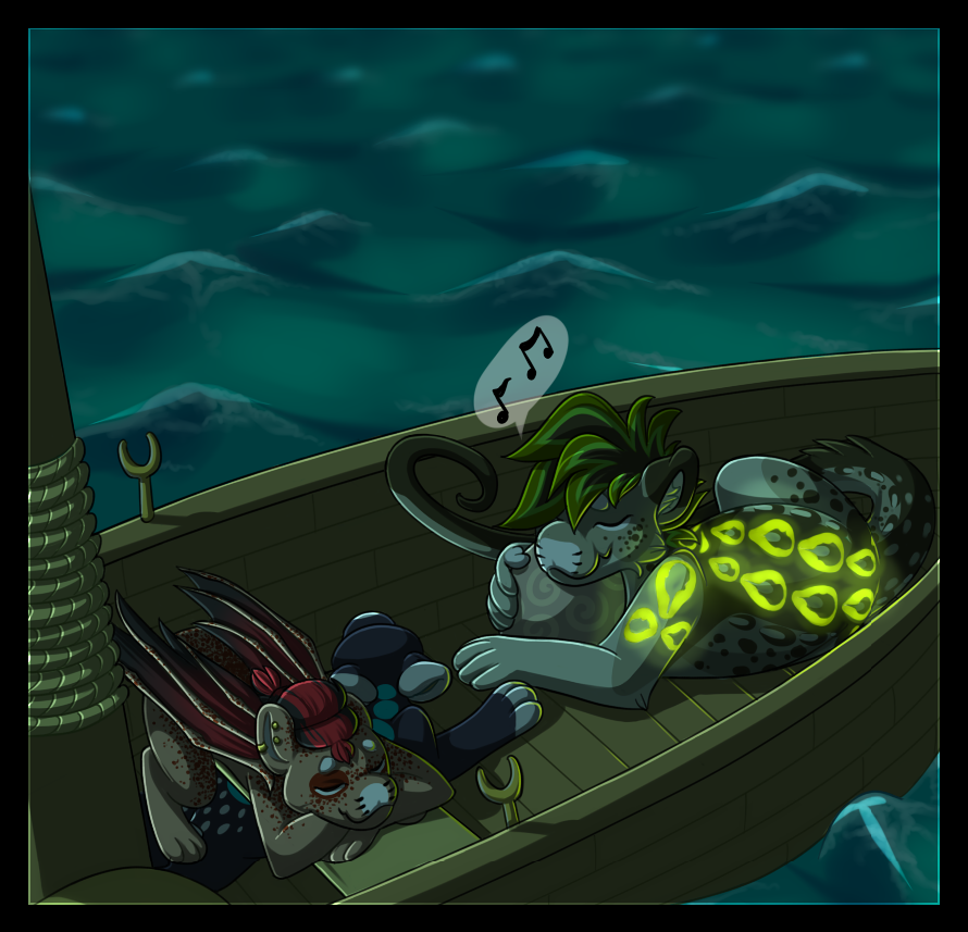 Lost Treasure Part 2: Ocean Lullaby by Ascynd