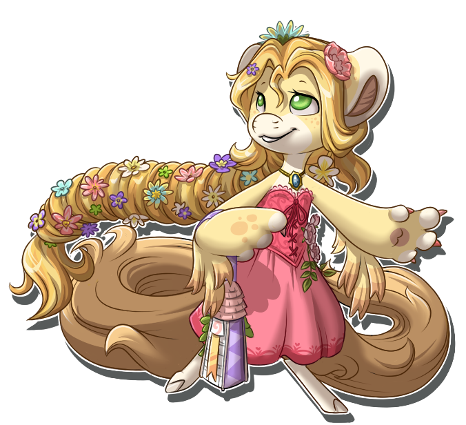 Bloomday Rapunzel by Ascynd