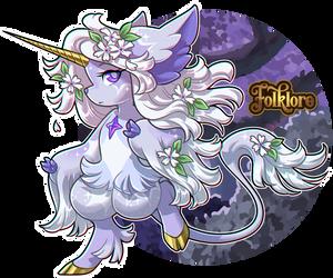 Folklore Adopt - Sylvan Unicorn [CLOSED]