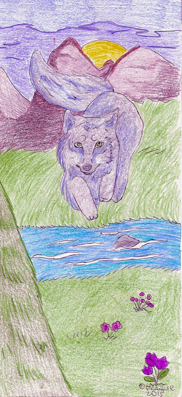 wolf is for the Earth