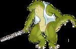OC: Wani the Crocodile Samurai
