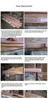 Foam Katana Tutorial Pt 1 by fixinman