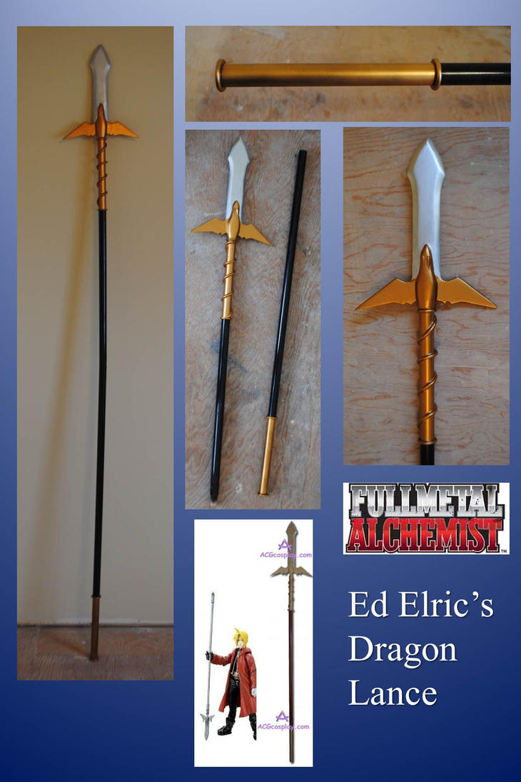 Ed Elric's Lance by fixinman