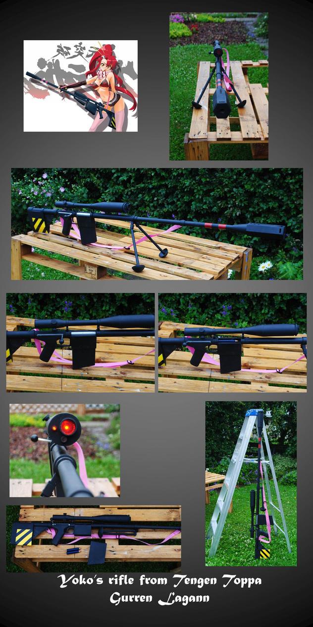 Yoko's Rifle Tengen Toppa Gurren Lagann by fixinman