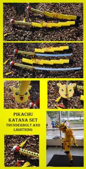Pikachu Katana Set