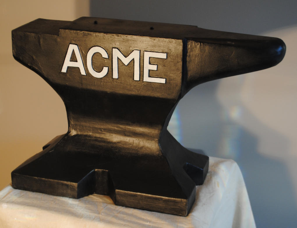 Acme Anvil by fixinman