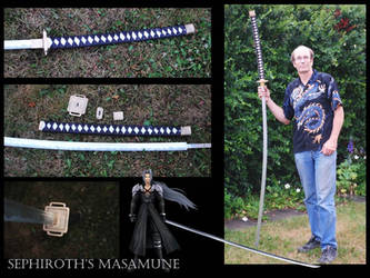 Sephiroth's Masamune by fixinman