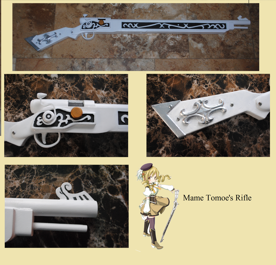 Mame Tomoe's Rifle by fixinman