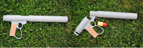 Laputa Grenade launcher by fixinman