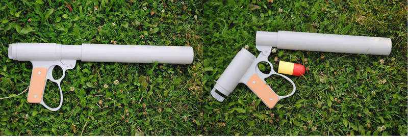 Laputa Grenade launcher