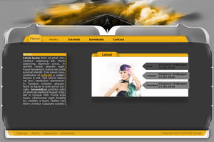 Personal '3D' Portfolio by cryps5