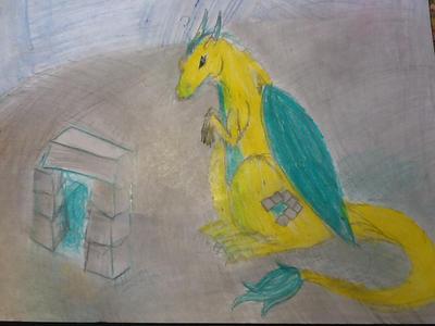 Dragon RJ by Doodlingmonster
