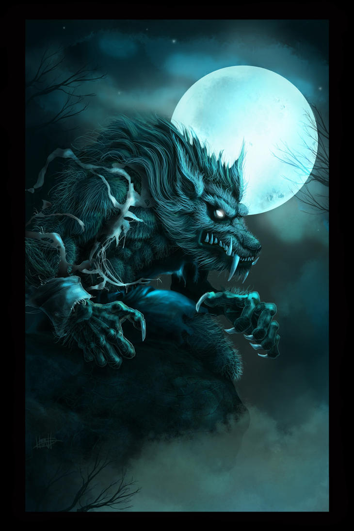 The Howling Moon by greghiatt