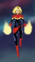 Captain Marvel by Mistery12