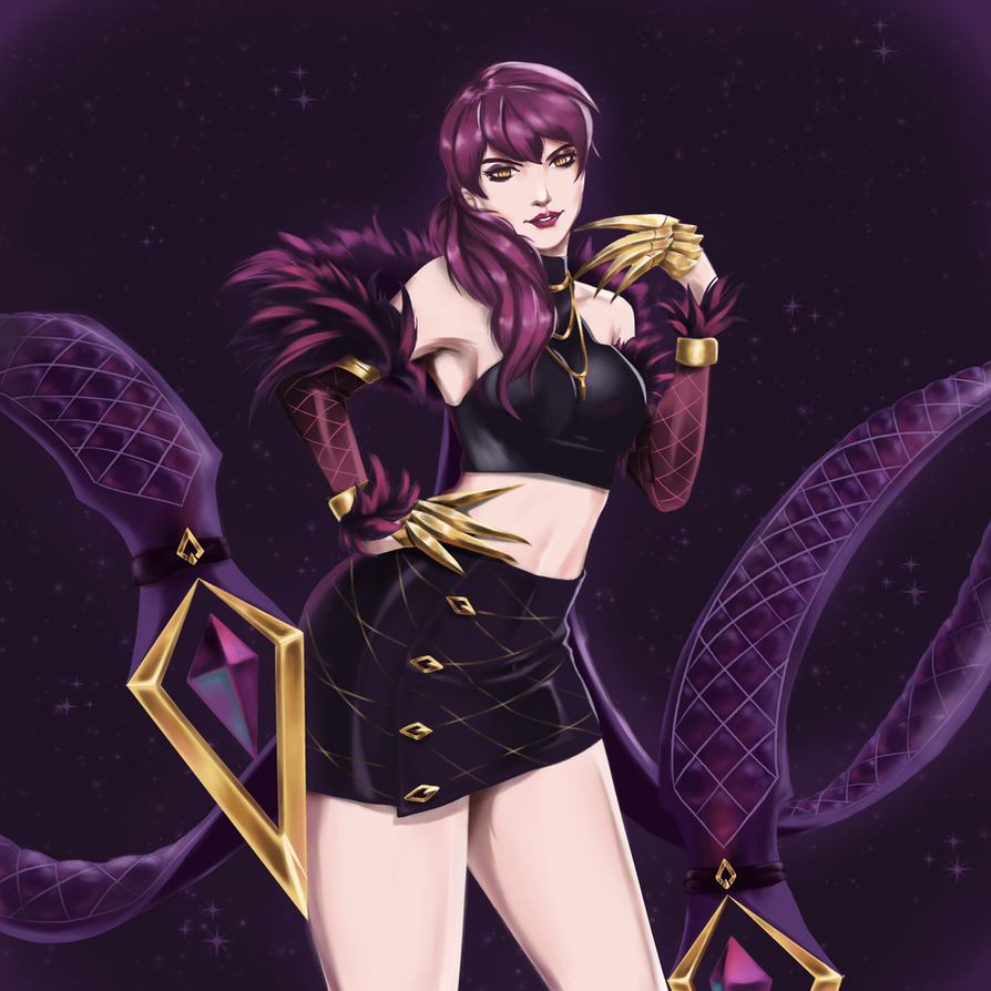 K/DA Evelynn by Mistery12