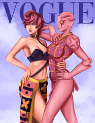 Trish Una and Spice Girl by Mistery12