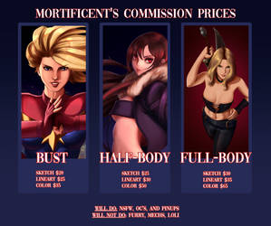 Commissions Open!! (PayPal Only) by Mistery12