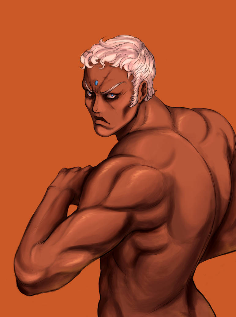 Urien (Street Fighter) by Mistery12