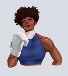 Original Fighting Game Character Concept