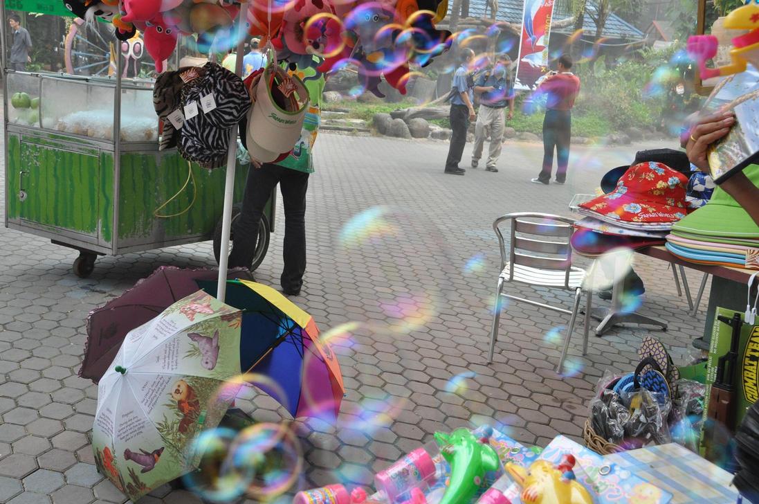 bubbles by little-arrow