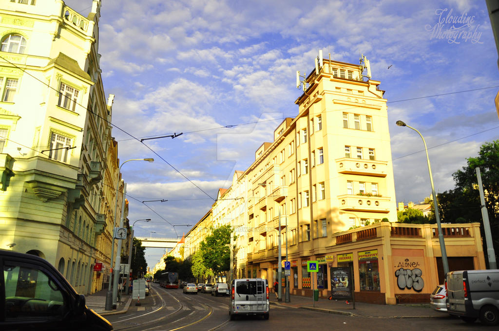 The Old Praha by little-arrow
