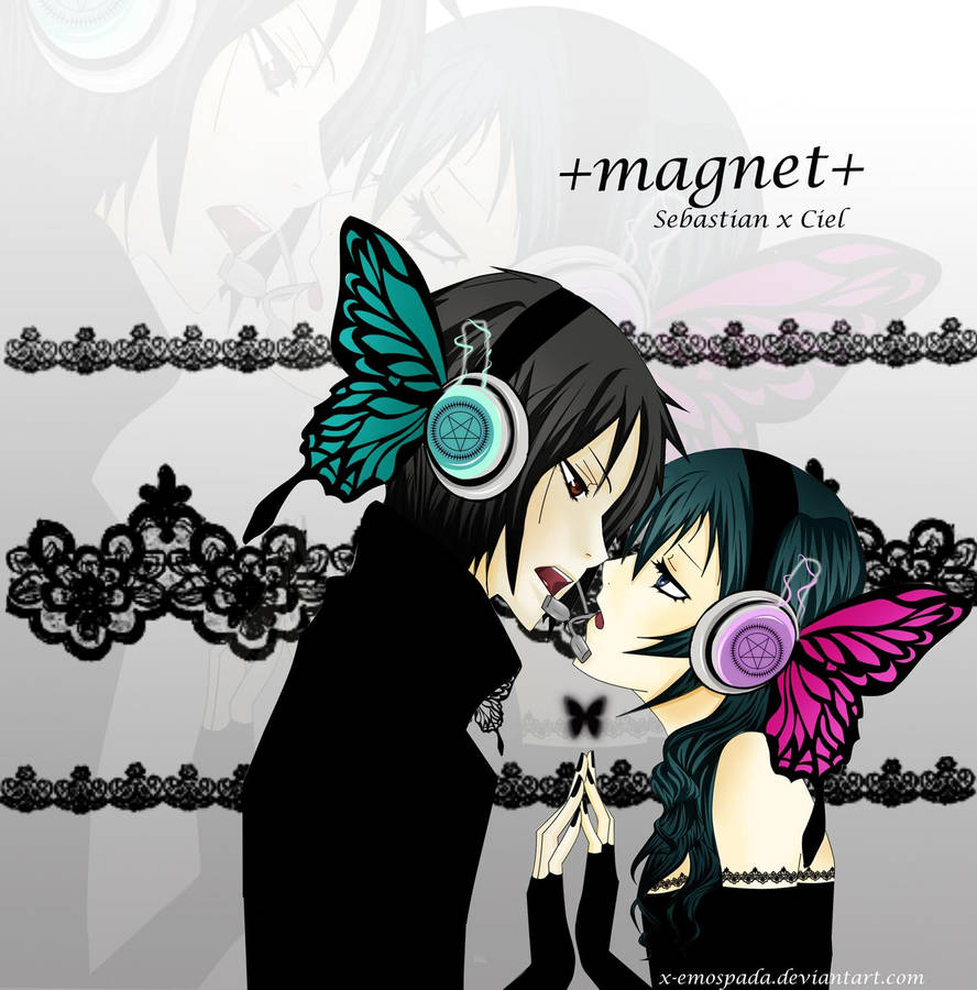 +Magnet+ SebastianxCiel