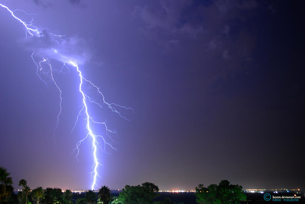 lightning by inkmlab
