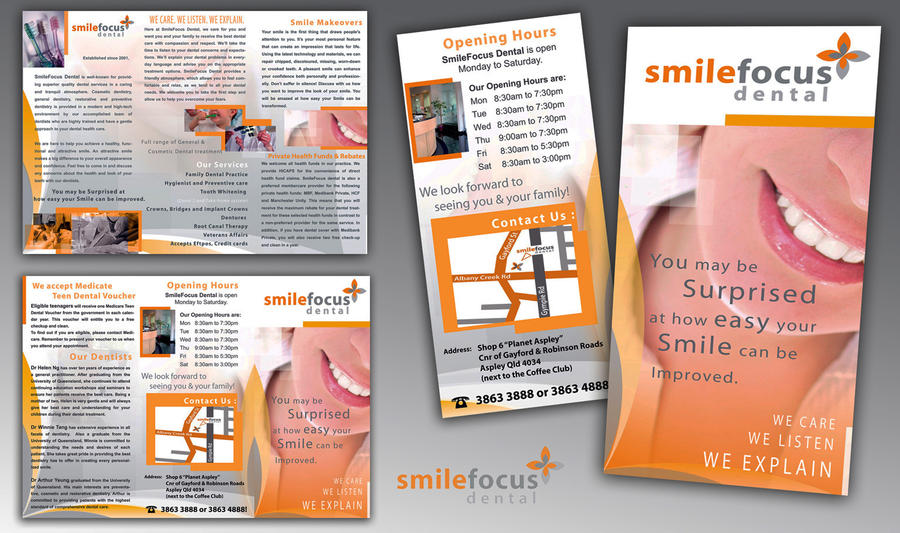 Dentist flyer design.. by Kdef on DeviantArt