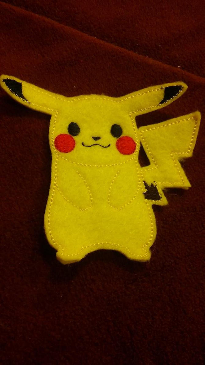 pikachu finger puppet by lil winged wolfy on deviantart