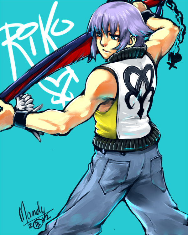 KH:DDD + Riku by BakaMandy