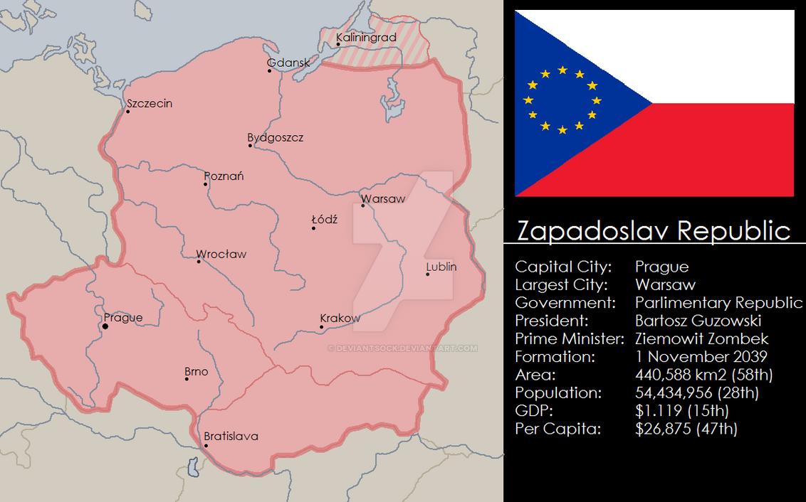 Zapadoslav Republic by deviantsock