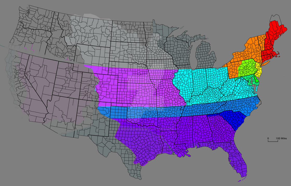 Divided States Of America By Deviantsock On Deviantart