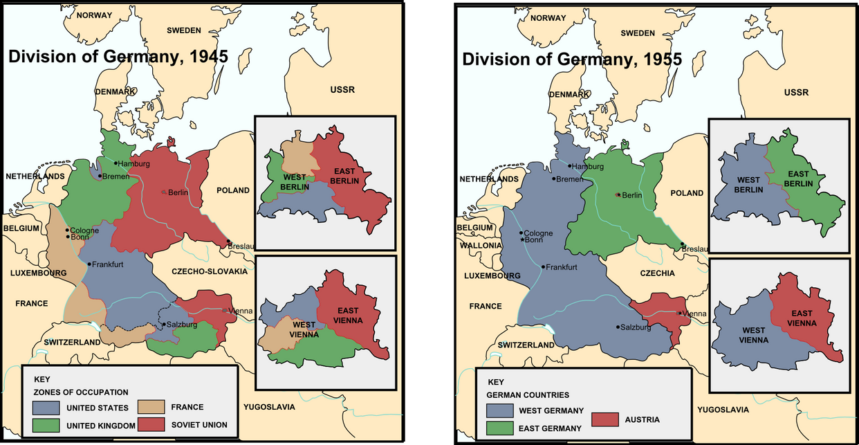 Alternate Division Of Germany By Nanwe On DeviantArt - Germany map after ww2