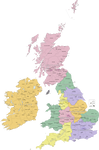Administrative Divisions of the United Kingdom*