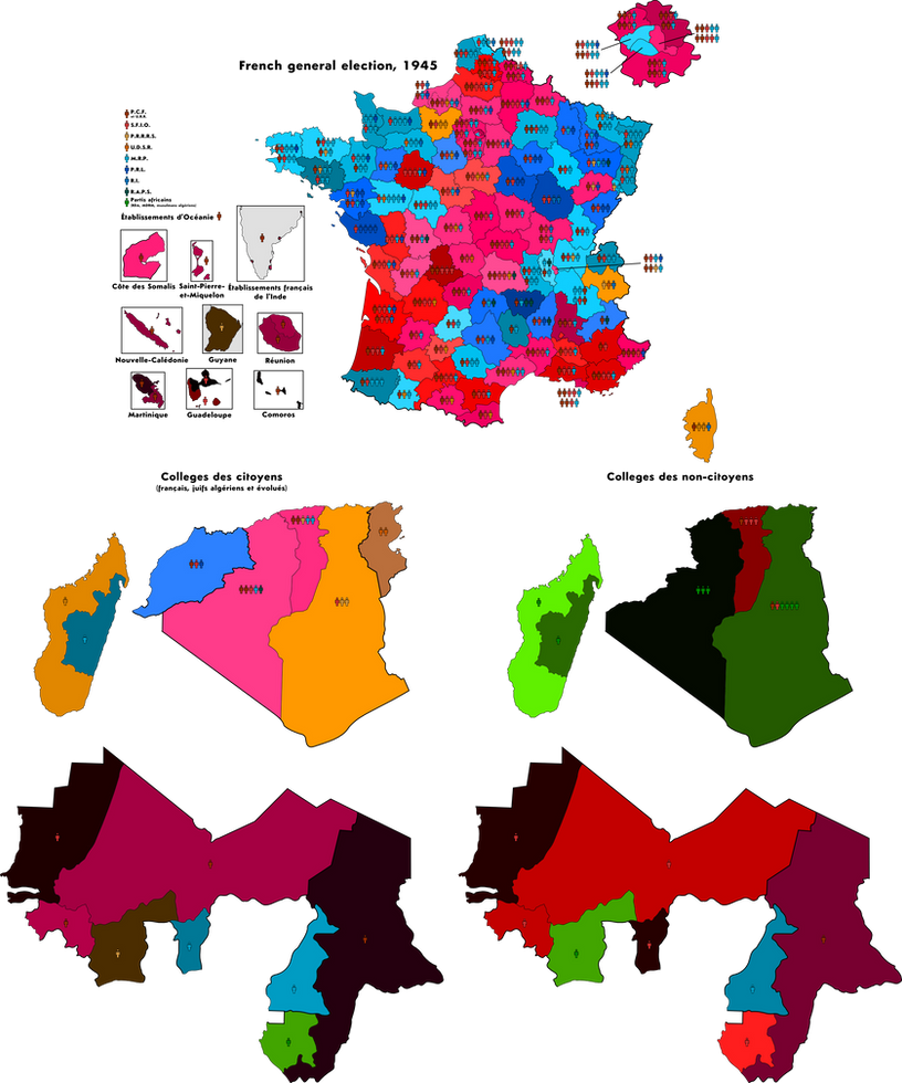 French general election, 1945 by nanwe01 on DeviantArt
