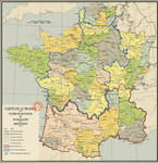 Map of the Kingdom of France