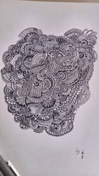 Big doodle by Splashmom