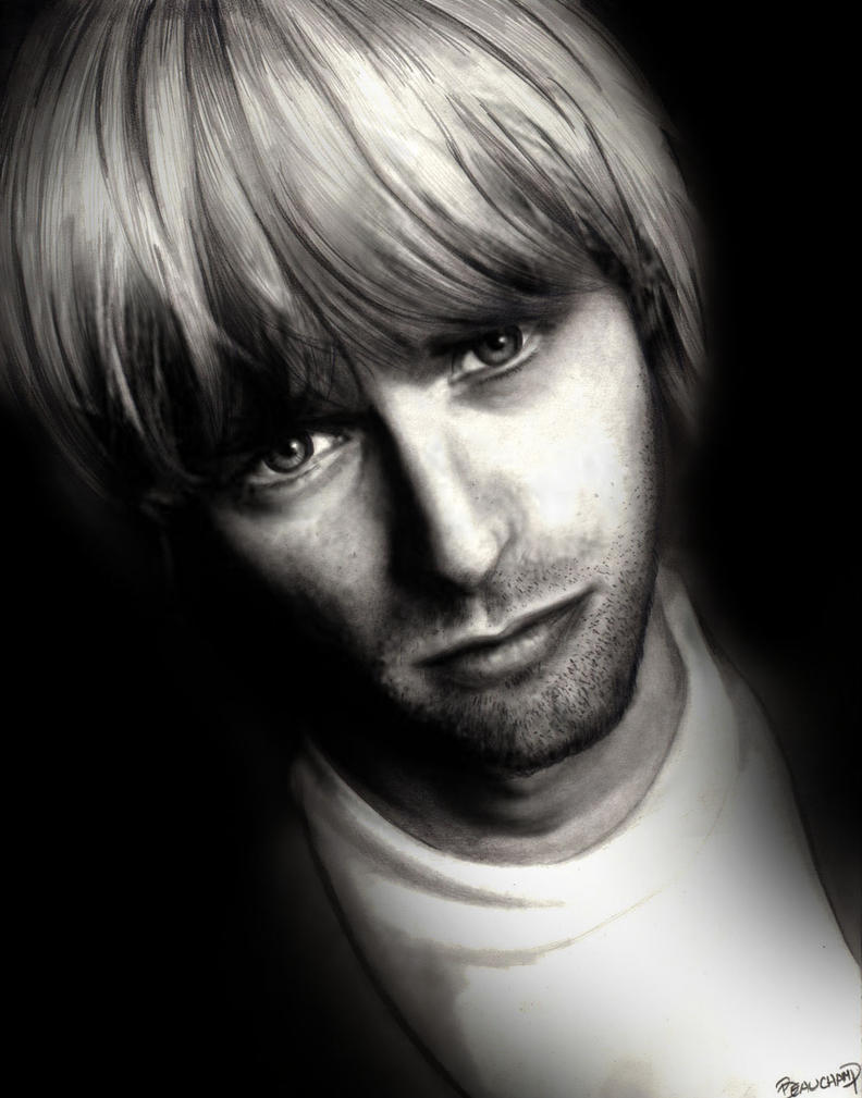 Kurt Cobain by Eruadan