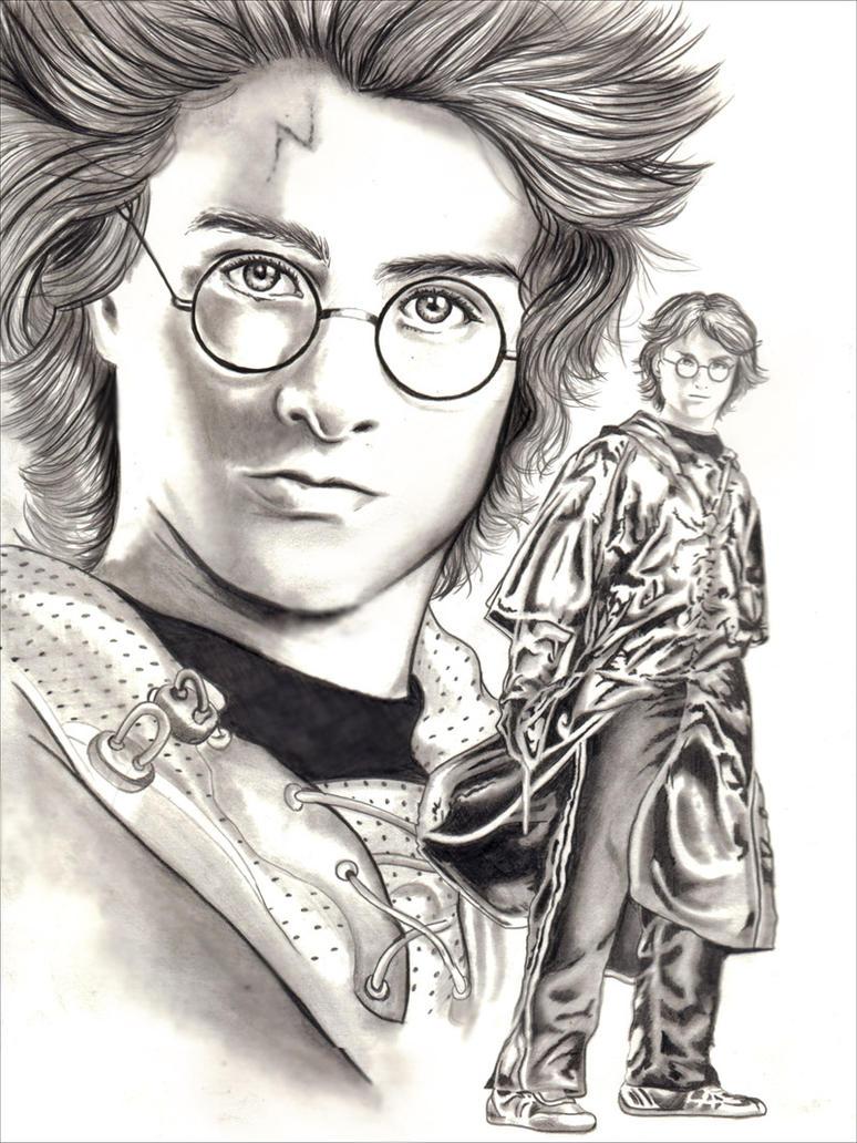 Harry Potter Sketch by Eruadan