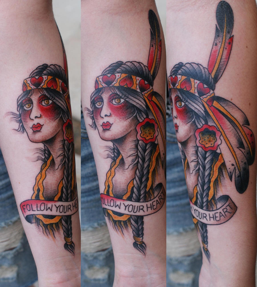 You must follow your heart by luv addict on deviantart for Loveland tattoo shops
