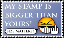 STAMPS - bigger than yours by Tursy