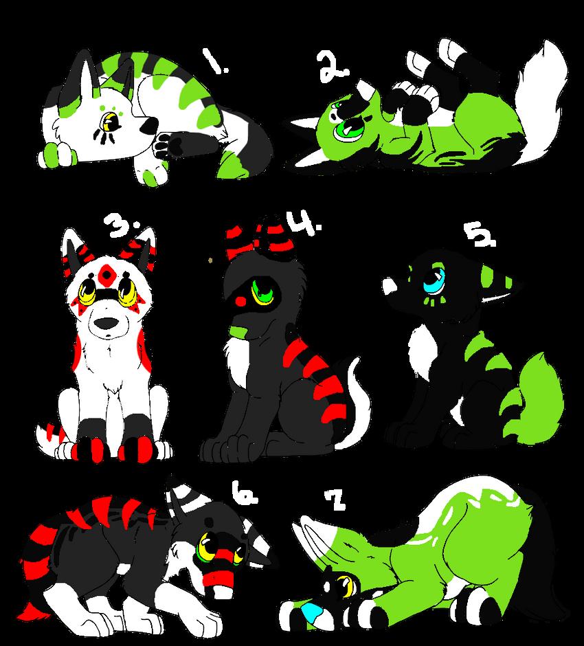 Pups -Open- by DemoniaTheGuardian