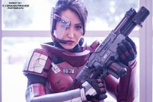 Mass Effect - Commander Shepard by Yohann Franco