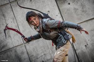 Lara Croft by Laurent Tartavel